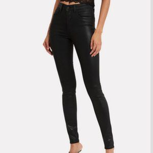 L'AGENCE Marguerite Coated High Rise Skinny Jean 2
